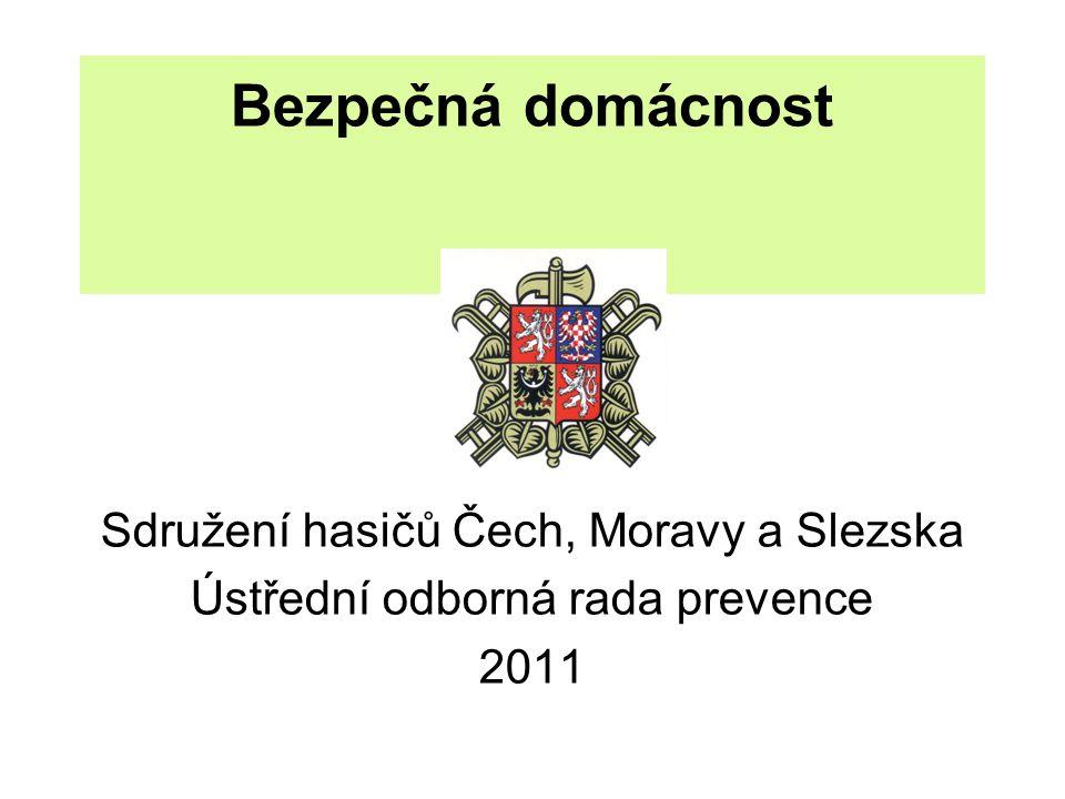 Bezpečná domácnost Sdružení hasičů Čech, Moravy a Slezska