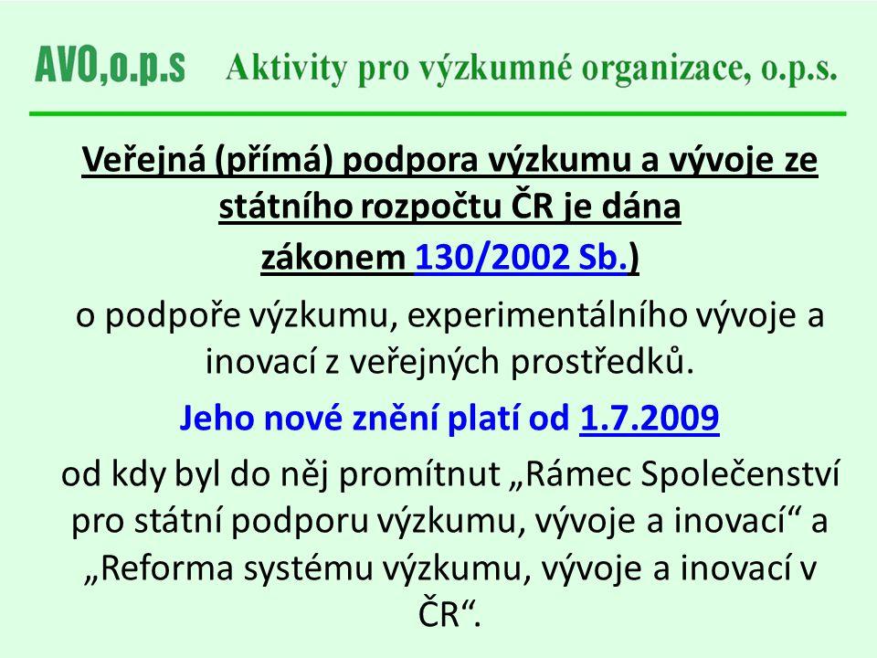 Jeho nové znění platí od 1.7.2009