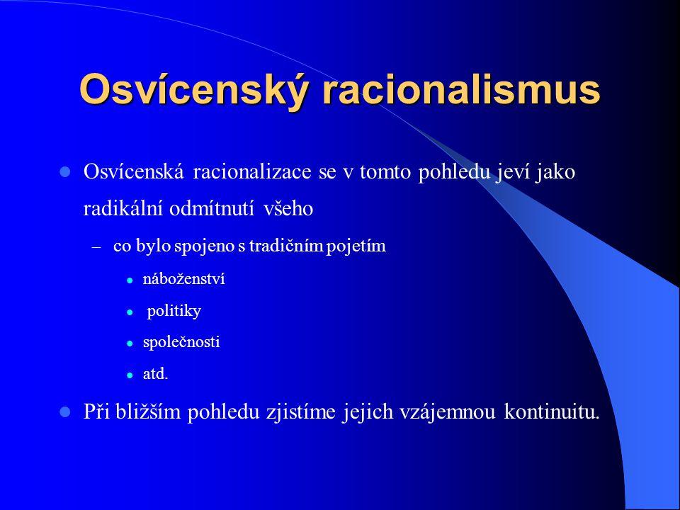 Osvícenský racionalismus