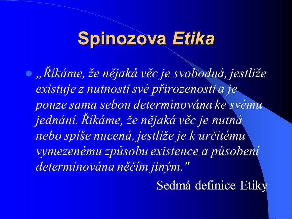 Spinozova Etika