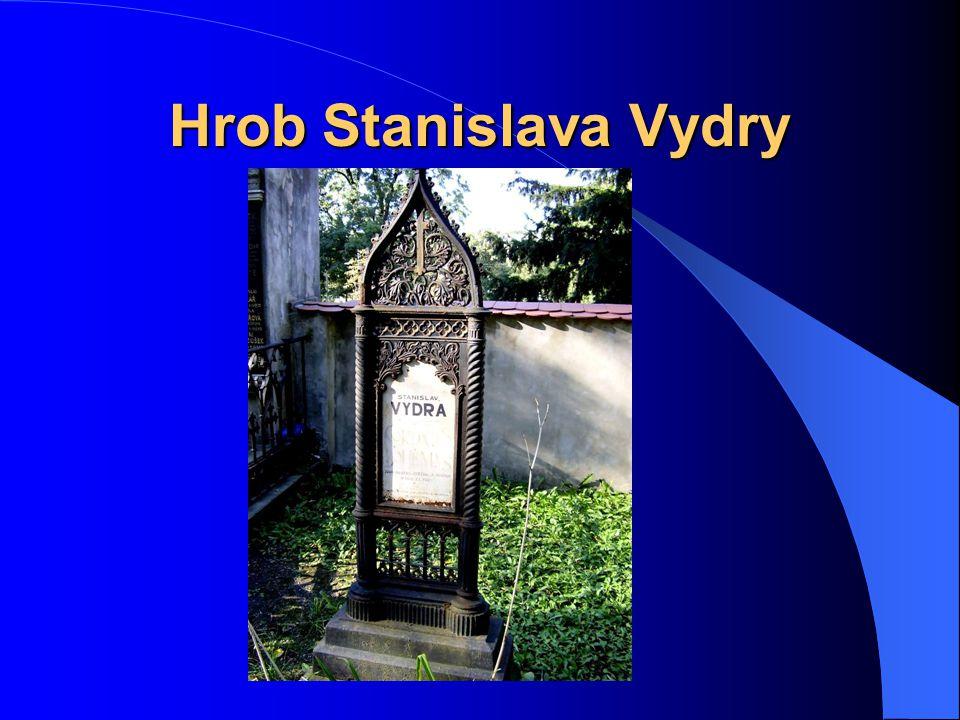 Hrob Stanislava Vydry