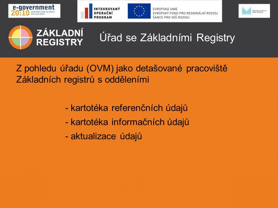 Úřad se Základními Registry