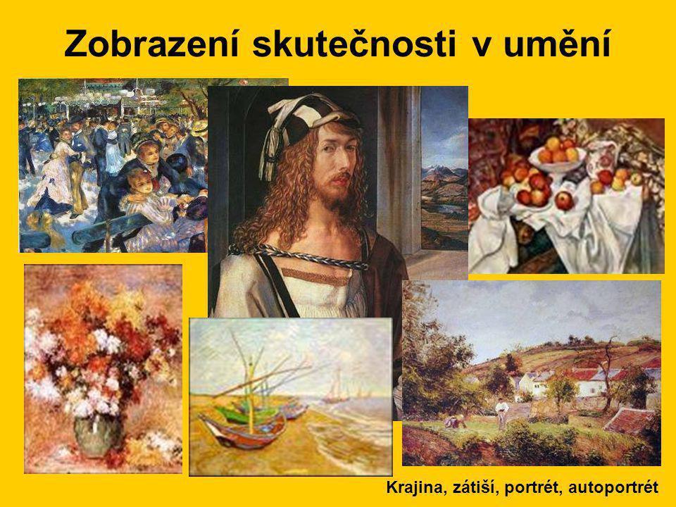 Zobrazení skutečnosti v umění