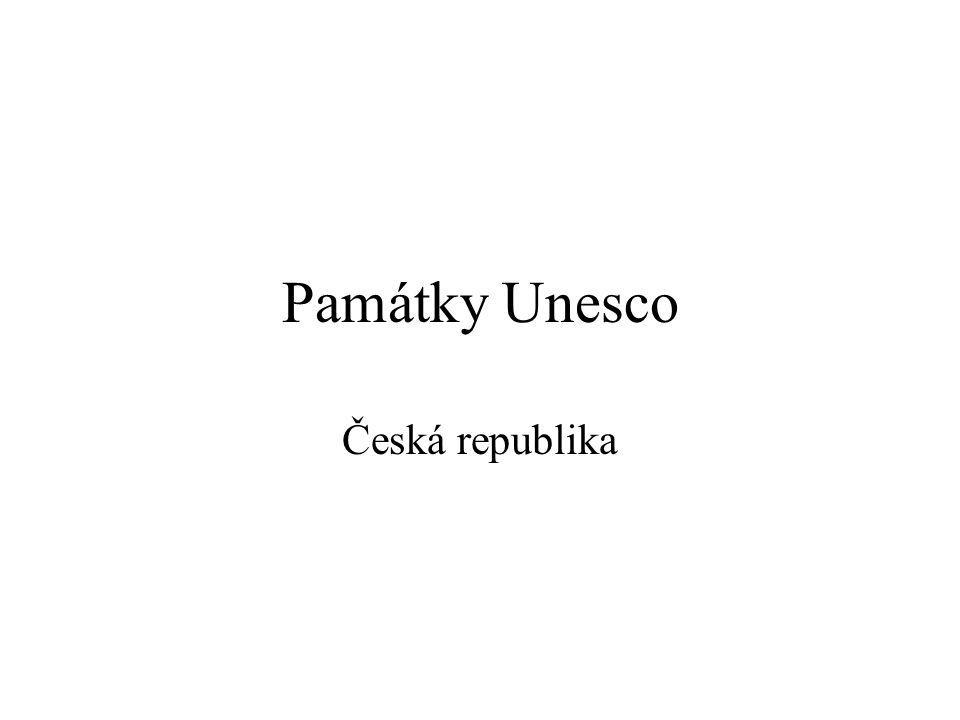 Památky Unesco Česká republika