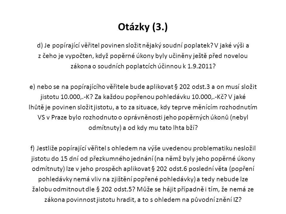 Otázky (3.)