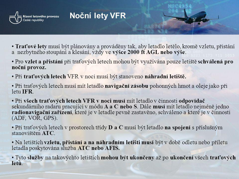 Noční lety VFR
