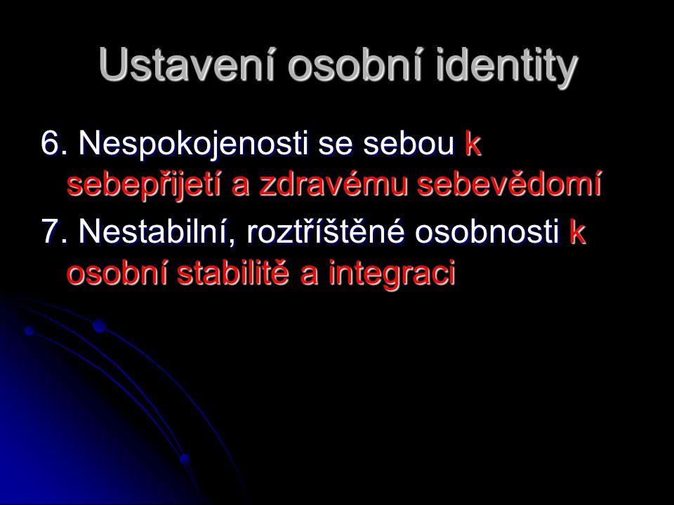 Ustavení osobní identity