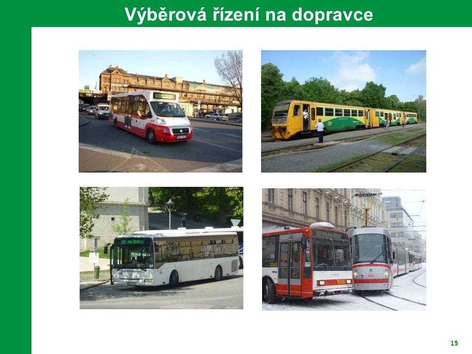 Výběrová řízení na dopravce
