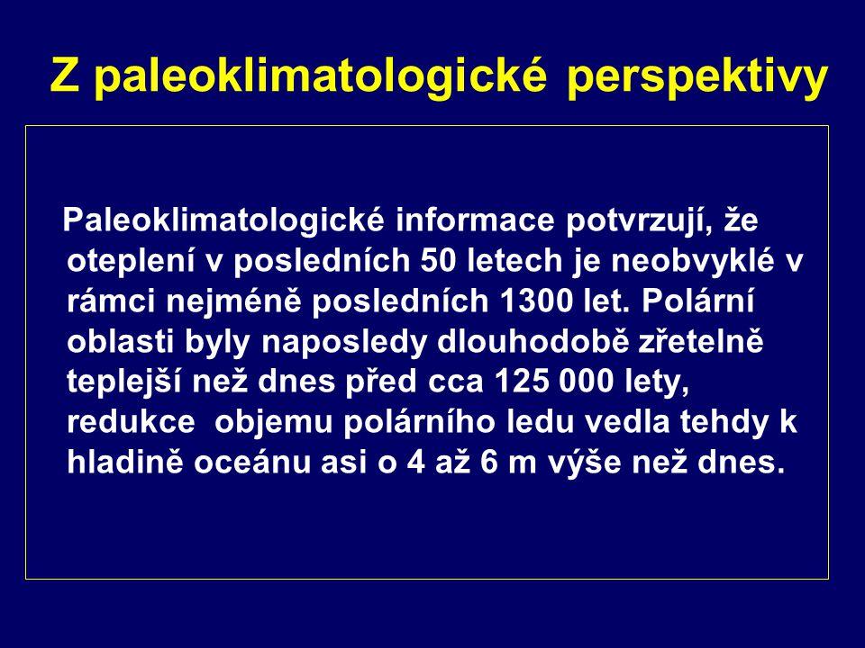 Z paleoklimatologické perspektivy