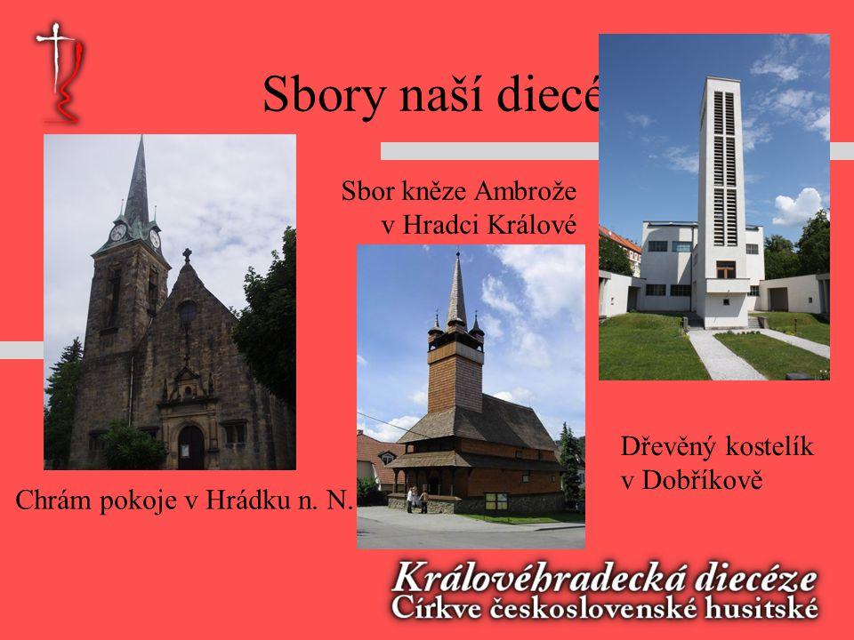 Sbory naší diecéze Sbor kněze Ambrože v Hradci Králové