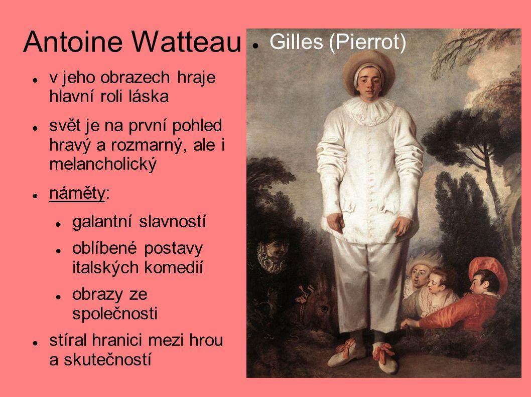 Antoine Watteau Gilles (Pierrot)