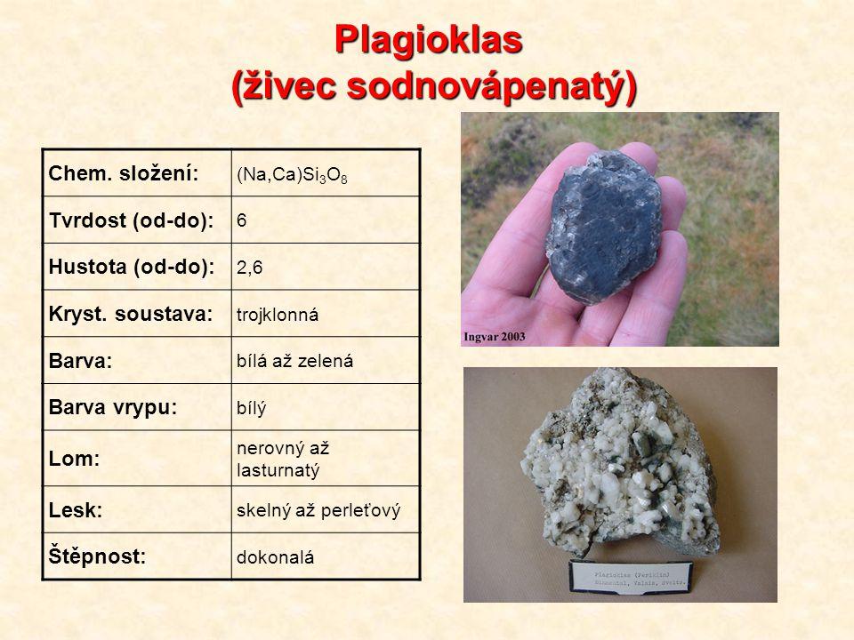 Plagioklas (živec sodnovápenatý)