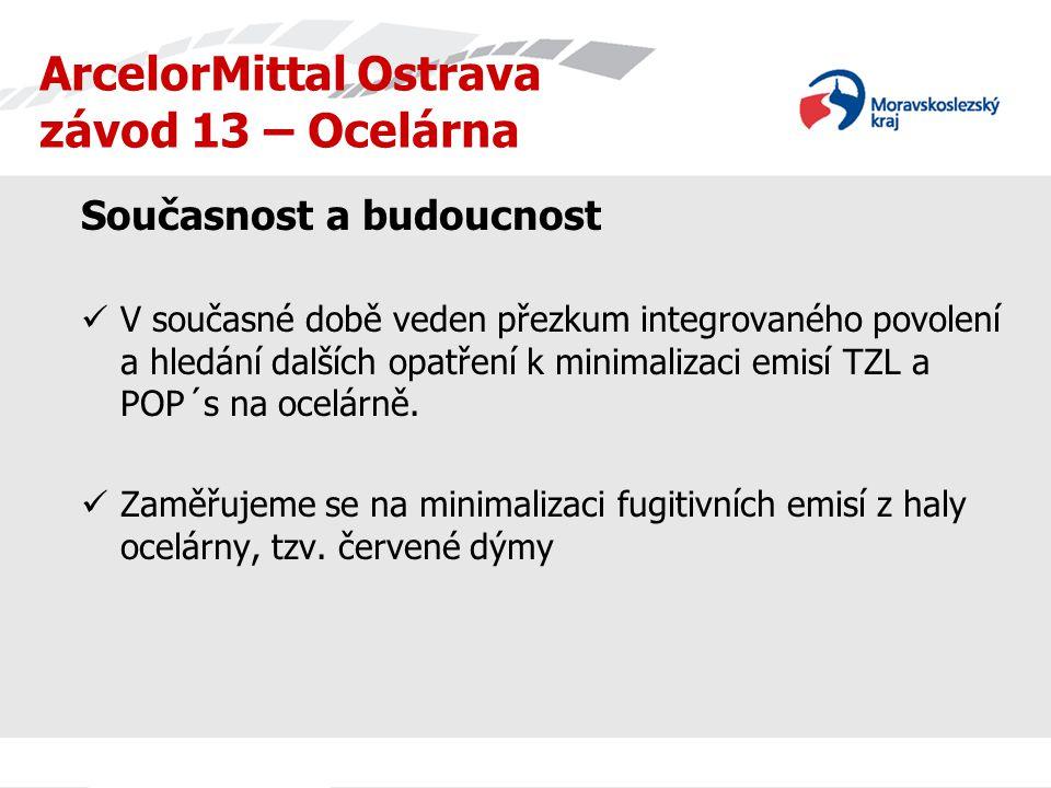 ArcelorMittal Ostrava závod 13 – Ocelárna