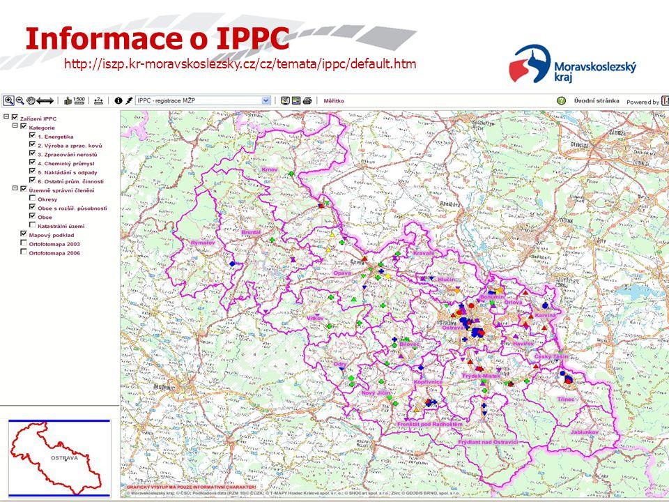 Informace o IPPC http://iszp. kr-moravskoslezsky