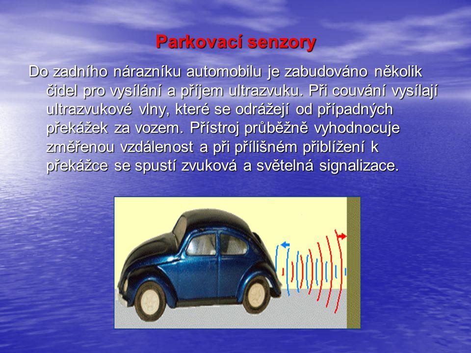 Parkovací senzory