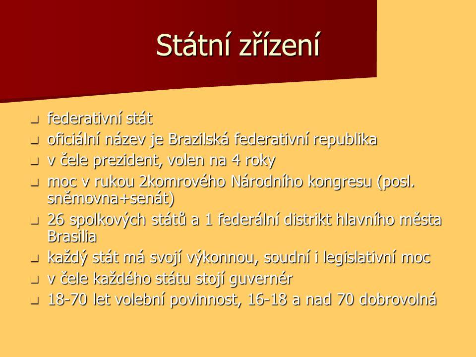 Státní zřízení federativní stát