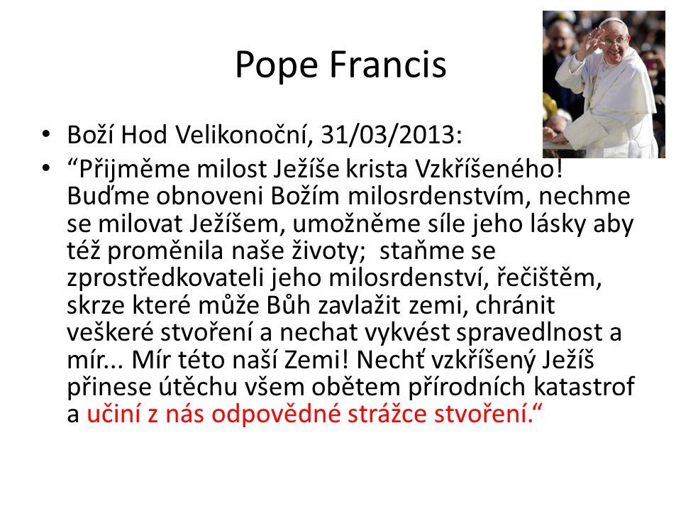 Pope Francis Boží Hod Velikonoční, 31/03/2013: