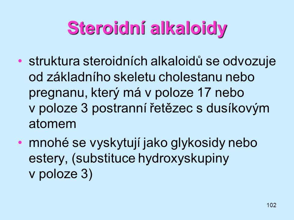 Steroidní alkaloidy