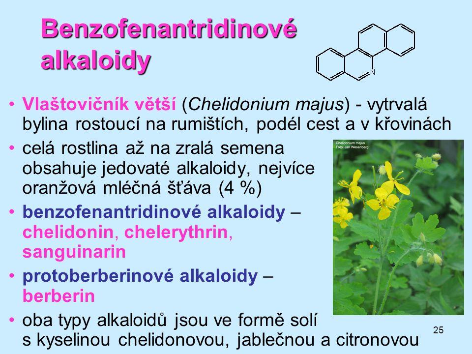 Benzofenantridinové alkaloidy