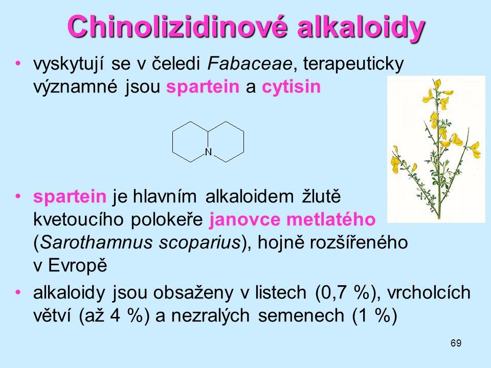 Chinolizidinové alkaloidy