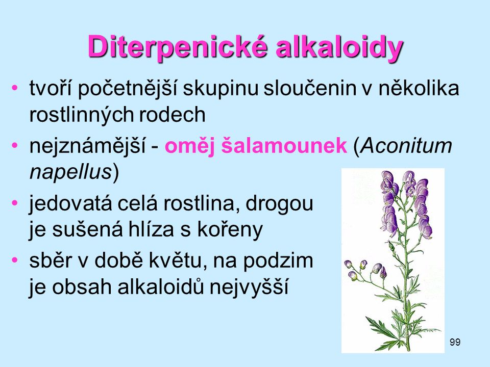 Diterpenické alkaloidy