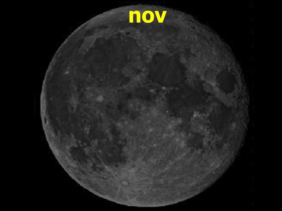 nov Měsíční nov
