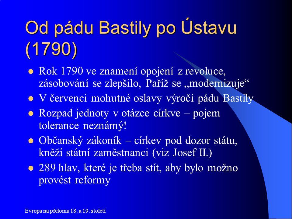 Od pádu Bastily po Ústavu (1790)