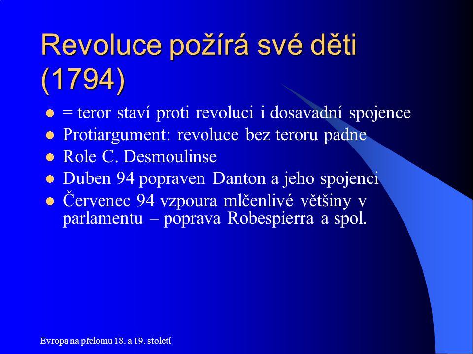Revoluce požírá své děti (1794)