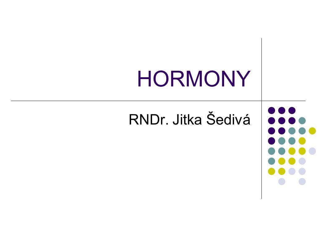 HORMONY RNDr. Jitka Šedivá