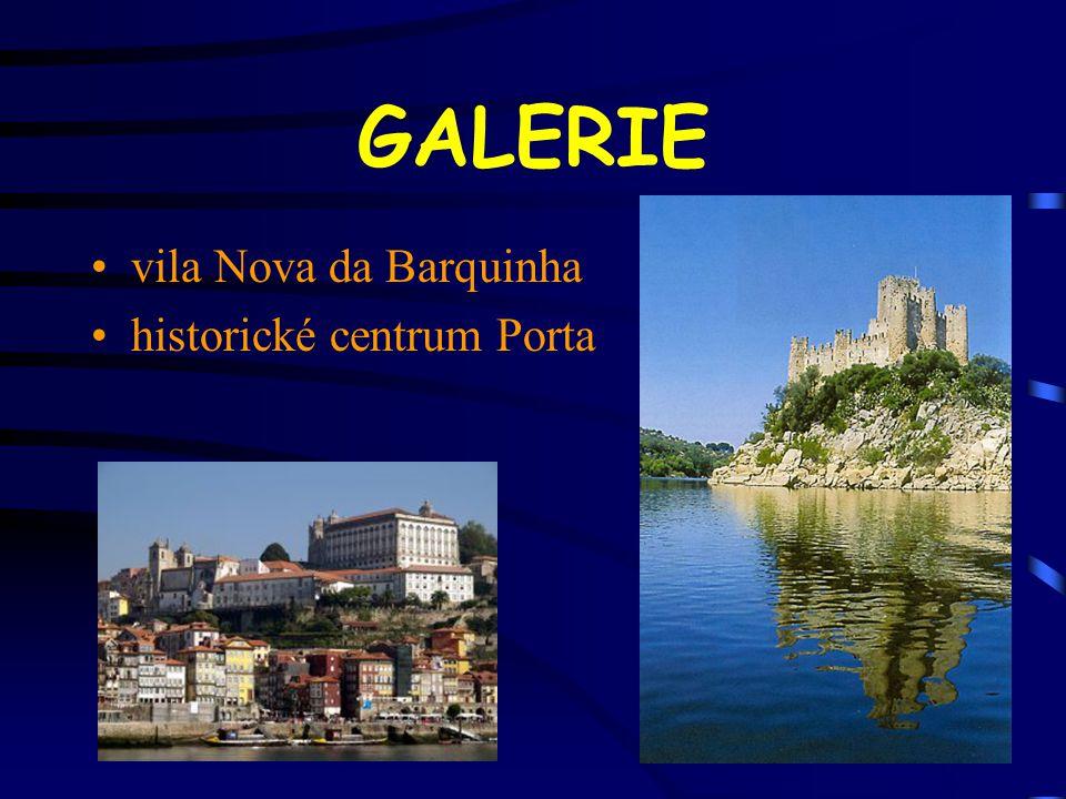GALERIE vila Nova da Barquinha historické centrum Porta