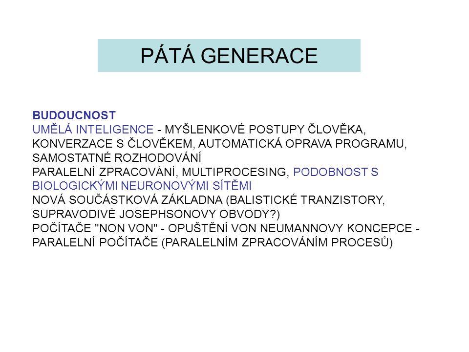 PÁTÁ GENERACE BUDOUCNOST