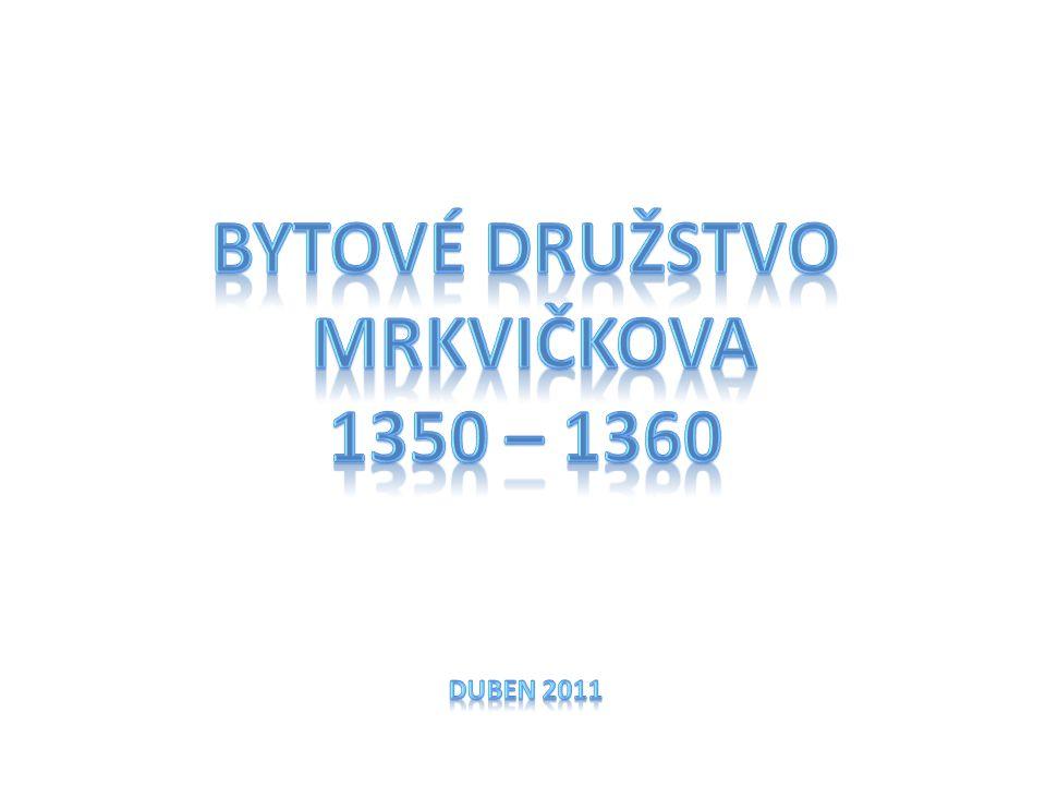 Bytové družstvo Mrkvičkova 1350 – 1360