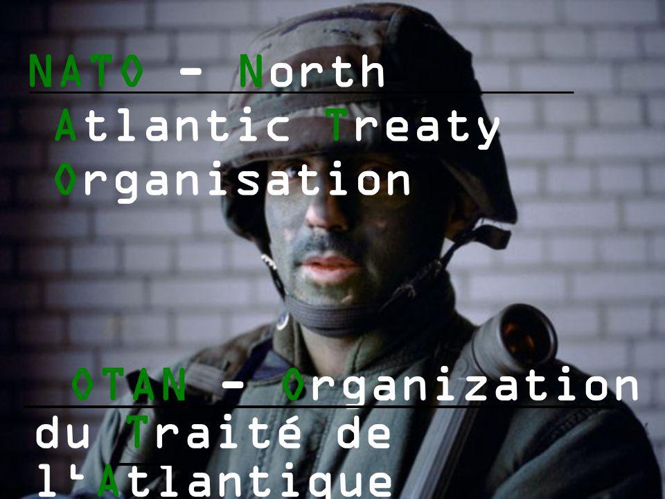 NATO - North Atlantic Treaty Organisation