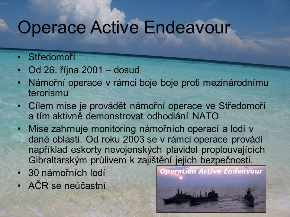 Operace Active Endeavour