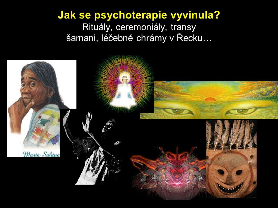 Jak se psychoterapie vyvinula