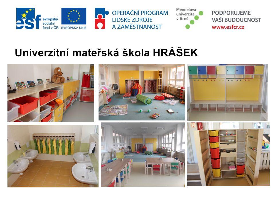 Univerzitní mateřská škola HRÁŠEK