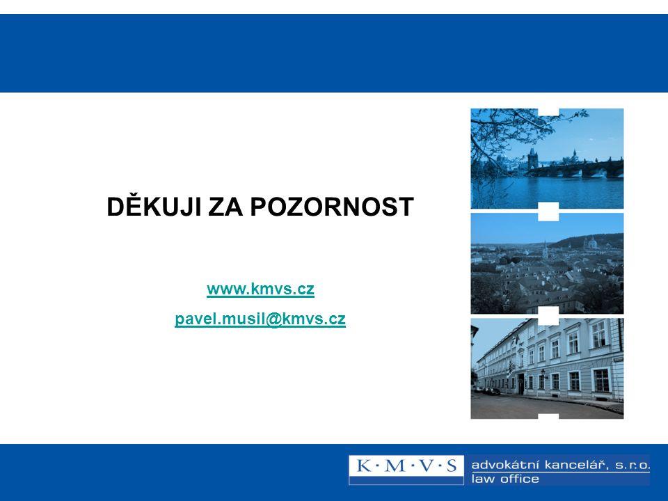 Reklamní právo v praxi DĚKUJI ZA POZORNOST www.kmvs.cz