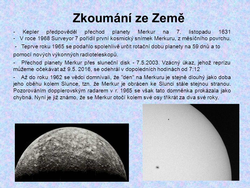Zkoumání ze Země