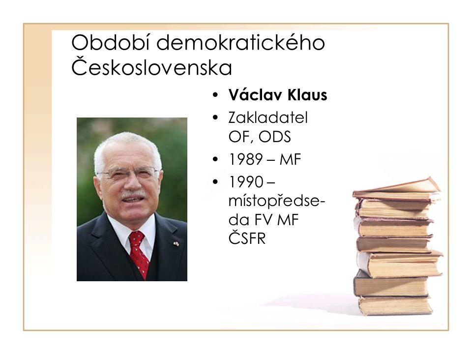 Období demokratického Československa