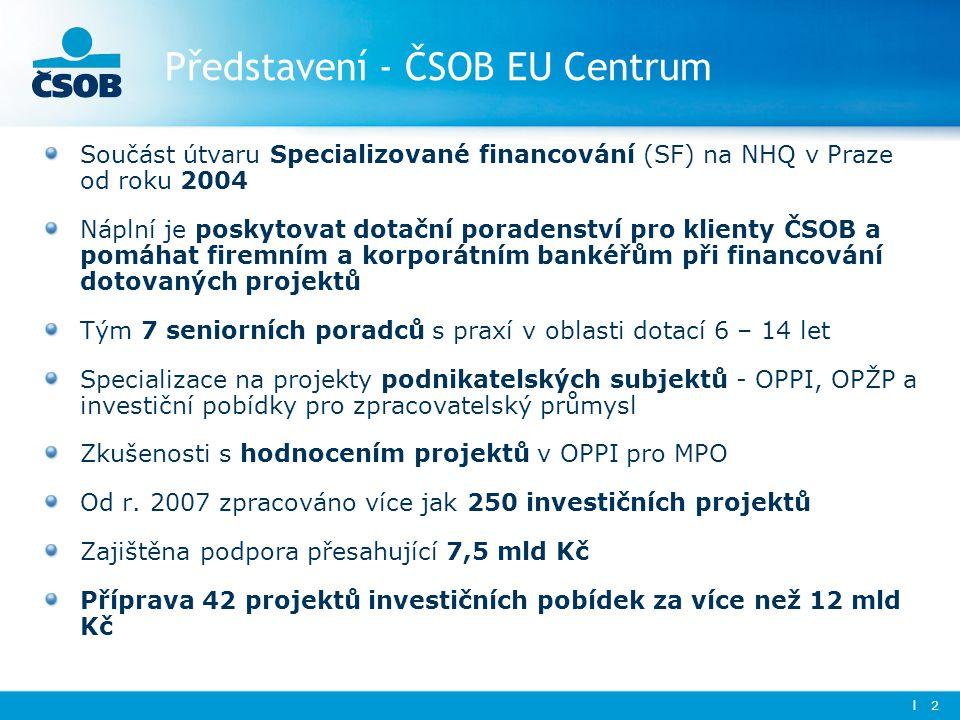 Představení - ČSOB EU Centrum