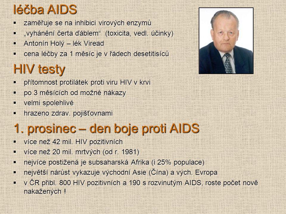 1. prosinec – den boje proti AIDS