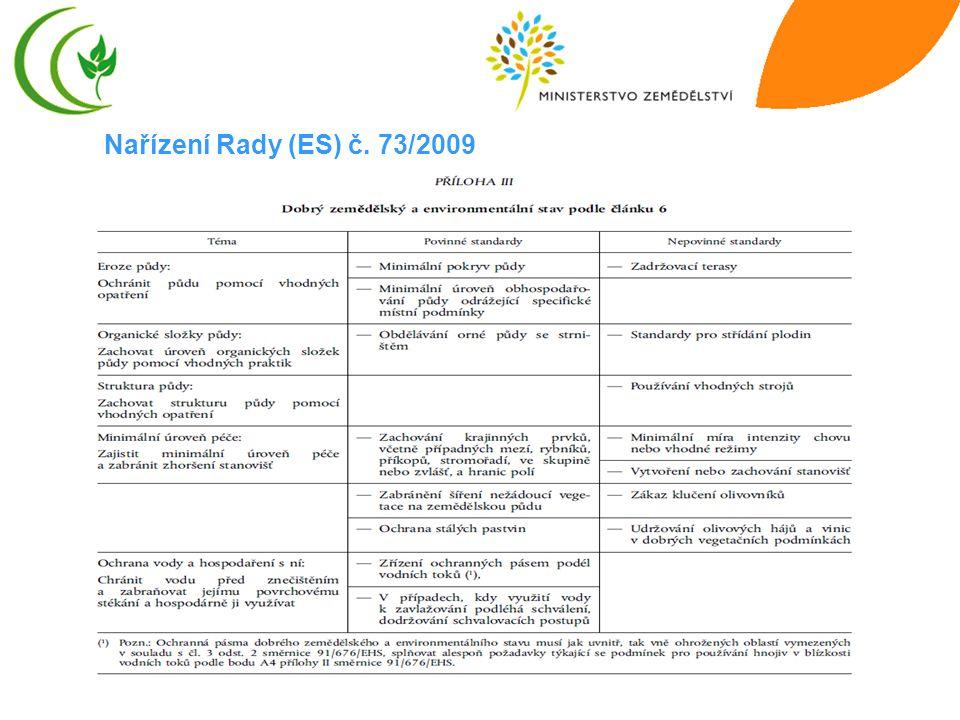Nařízení Rady (ES) č. 73/2009