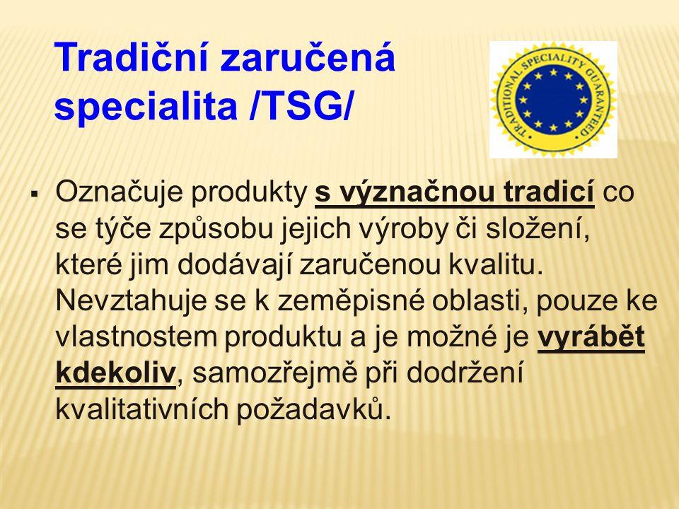 Tradiční zaručená specialita /TSG/