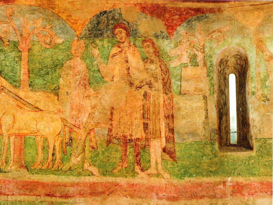 Od počátku křesťanství pokrývá stěny chrámů výzdoba v podobě mozaiky nebo fresky.