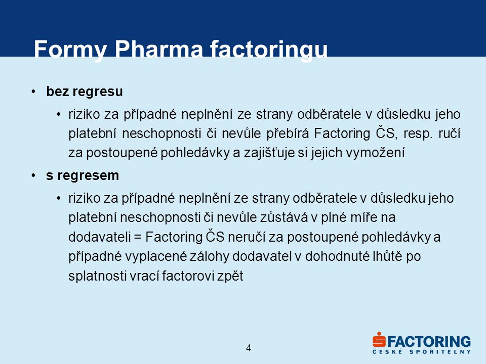 Formy Pharma factoringu