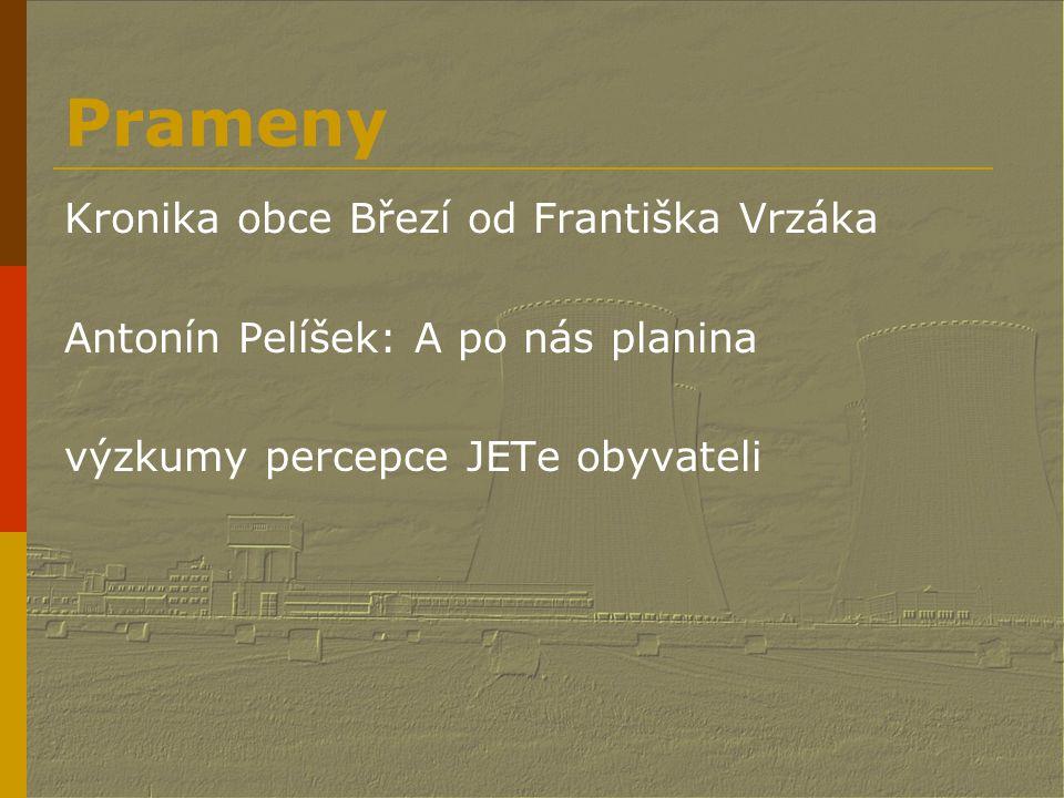 Prameny Kronika obce Březí od Františka Vrzáka
