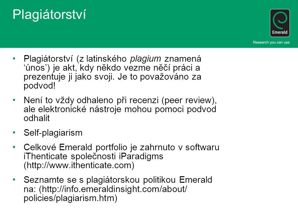 Plagiátorství