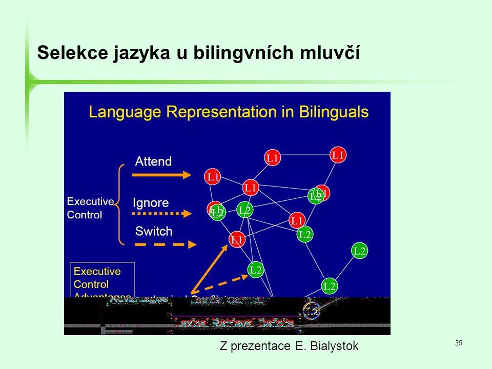 Selekce jazyka u bilingvních mluvčí