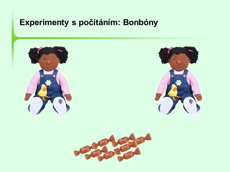 Experimenty s počítáním: Bonbóny