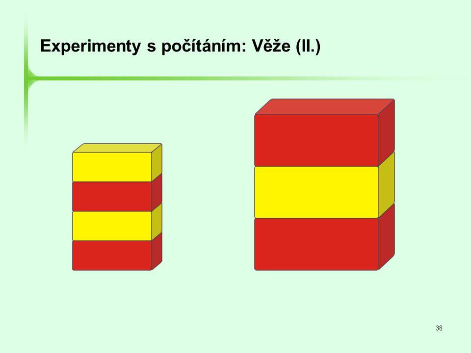 Experimenty s počítáním: Věže (II.)